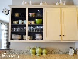 Kitchen Cabinets With Glass Kitchen Updates Hardware U0026 Seeded Glass Sincerely Sara D