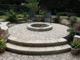 Firepit Patio B T Klein S Landscaping Hardscapes Firepits