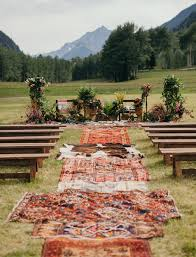 Bohemian Rugs Cheap Glam Meets Boho In This Aspen Wedding Aspen Boho And Wedding