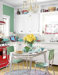 50s style kitchen table love the 50s style idea for a kitchen missbucket for the home