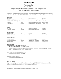 Basic Template For Resume Microsoft Word Resume Format And Maker Basic Template Business All