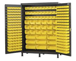 Yellow Storage Cabinet Extra Wide Storage Cabinet 60 Inw X 24 Ind X 84 Inh Includes 227