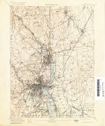 Rhode Island Map Rhode Island Historical Topographic Maps Perry Castañeda Map