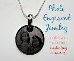 photo engraved necklace everlasting memories with photo engraved jewelry blogging mamas