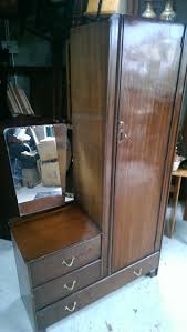 Dressing Wardrobe by Vintage Gents Dressing Wardrobe And Chest 2 Over 1 Chest Of