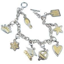 charm bracelet women two tone charm bracelet deseret book