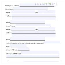 makeup contracts for weddings wedding contract template 24 free documents in pdf