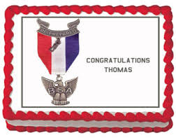 eagle scout cake topper eagle scout cake etsy