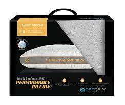 bed gear pillow bedgear storm series lightning 2 0 performance pillow metro mattress