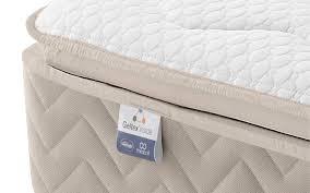silentnight helsinki miracoil geltex pillow top mattress