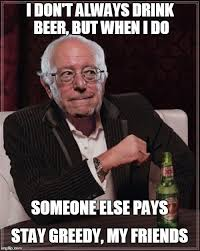 Meme Dos Equis - dos equis sanders imgflip