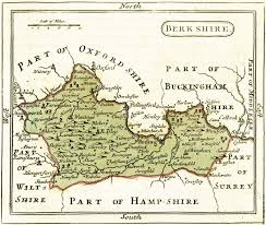 Berkshire England Map by The Map Of Berkshire