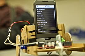 android bot android phone grows up becomes brain for real robot wired