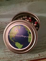 World Map Push Pin Board by Push Pin Travel Map Review Mags On The Move