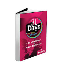 31 days to write better copy working words