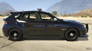 Lapd Subaru Impreza Wrx Sti For Gta 5