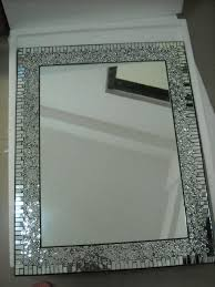 Mosaic Bathroom Mirror Decorative Bathroom Mirrors Bathrooms Ideas Throughout