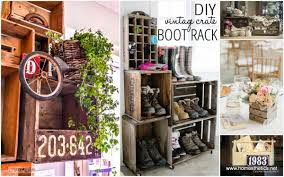 ideas on how to re purpose old wooden crates