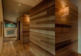 cedar wood wall modern cabin like retreat the californian landscape