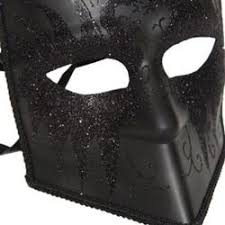 men masquerade mask black venetian masquerade mask 6in wide x 7in
