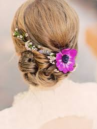 bridal flowers for hair 17 wedding hairstyles for hair with flowers