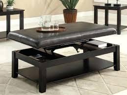 flip top coffee table exotic flip top ottoman flip top ottoman coffee table upholstered in