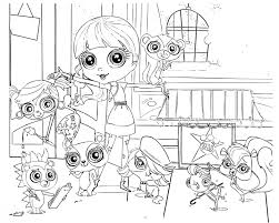 cute littlest pet shop coloring pages coloring pages foto von