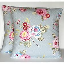 Shabby Chic Cushions by Duck Egg Blue Vintage Floral Cushion Cover Shabby Chic Style
