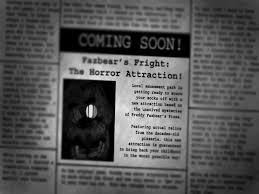 fazbear u0027s fright the horror attraction five nights at freddy u0027s