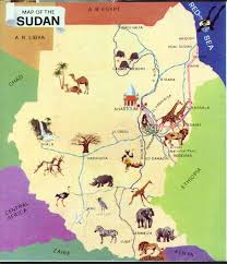 Sudan Africa Map by Mussa Sudan Homepage Colorful And Informative Page