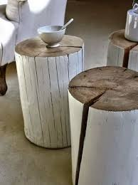 Tree Stump Side Table Tree Stump Side Tables Rizz Homes