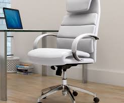 White Modern Desk Chair 20 Elegant And Sleek White Office Chairs For Modern Offices