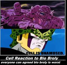 Broly Meme - cell reaction to bio broly by keyblademagicdan on deviantart
