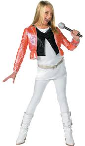 spirit halloween kids costumes hannah montana kids costume with pink jacket mr costumes