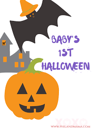 happy halloween text png baby u0027s first year series 1 free baby u0027s first halloween autumn