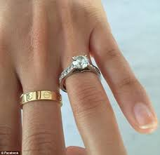 cartier engagement rings prices sells 33 000 cartier engagement ring after catching his
