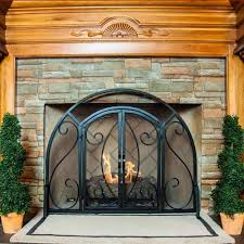 many types of fireplace screens 3180 furniture ideas