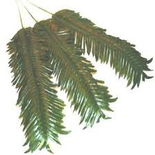 palm leaves for palm sunday artificial palm leaves pack of 3 decorative plastic palm