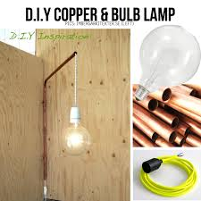 copper pipe light fixture a way to get lights over the cook top way out there copper and