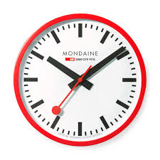big swiss railway clock moma design store