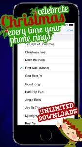 free christmas ringtones christmas music ringtones app store