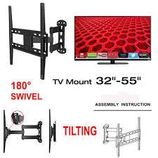 samsung 32 led tv wall mount unho full motion tv wall mount bracket swivel and tilt 26 55 inch