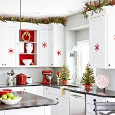 Kitchen Decorative Ideas Christmas Decorating Ideas For The Kitchen Photo Of Fine Kitchen