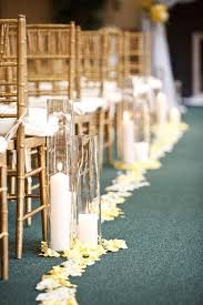 Wedding Aisle Decorations Ceremony Wedding Aisle Decor With Candles 893719 Weddbook