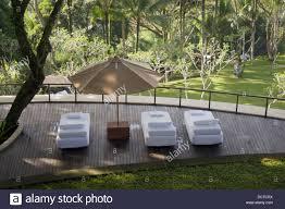 resort como shambhala estate ubud bali indonesia stock photo