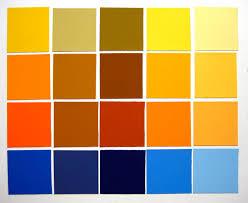 yellow color schemes analogous color scheme 1 gia s color study
