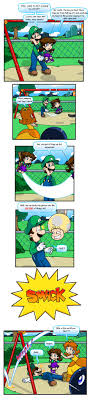 pun at the park by nintendrawer on deviantart mario