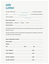gift letter format choice image linux system engineer sample