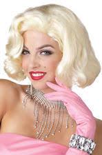 Blonde Wig Halloween Costume California Costumes Marilyn Monroe Blonde Wig Ebay
