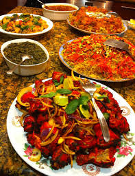table full of food pursuit of pleasure edible arts